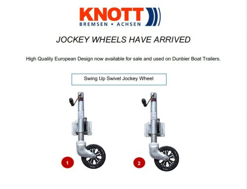 NEW EUROPEAN JOCKEY WHEELS AVAILABLE!